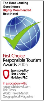 The First Choice Responsible Tourism Awards - Best Hotel